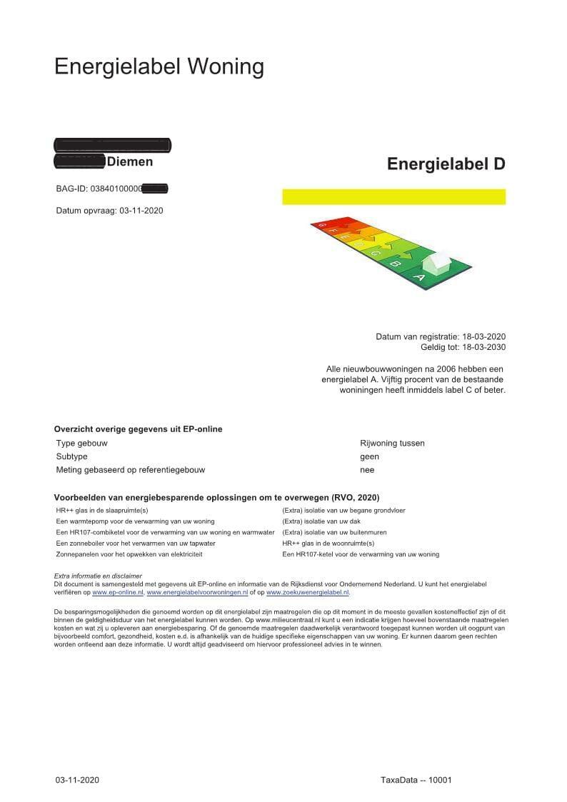 Energielabel TaxaData_1